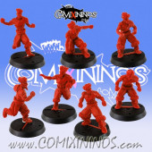 Kislev Circus - Set of 7 Slavic Linemen - Hexy Store