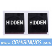 Hidden Tokens (Set of 2) - English