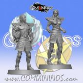 High Elves - Set of 2 High Elf Linemen - SP Miniaturas