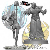 High Elves - Set of 2 High Elf Staff - SP Miniaturas