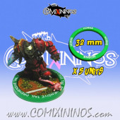 Set of 5 Horns Skill Rings for 32 mm Bases - Comixininos