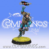 Humans - Human Blitzer nº 2 - Willy Miniatures