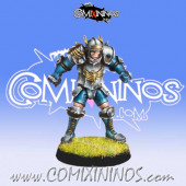 Humans - Human Blitzer nº 3 - Willy Miniatures