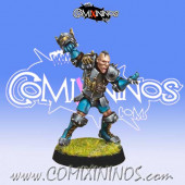 Humans - Human Blitzer nº 4 - Willy Miniatures