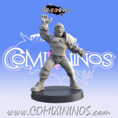 Humans - Resin Human Catcher nº 1 Extra 16th Player - Iron Golems