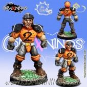 Humans - Human Lineman nº 2 - Meiko Miniatures