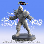 Humans - Resin Human Lineman nº 4 - Iron Golems