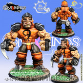 Big Guys - Ogre of Ball-Breakers Human Team - Meiko Miniatures