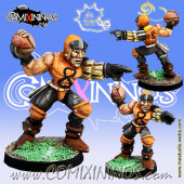 Humans - Ball-Breakers Human Thrower nº 1 - Meiko Miniatures
