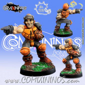 Humans - Ball-Breakers Human Thrower nº 2 - Meiko Miniatures
