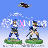 Amazons / Humans - Team Security Set of 2 - Shadowforge