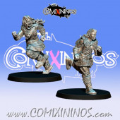 Norses - Resin Set of 2 GoN Nordic Runners - Fanath Art