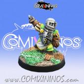 Halflings - Imperial Halfling nº 3 - Willy Miniatures