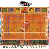 34 mm Indoor Plastic Gaming Mat with BB7 and Parallel Dugouts - Comixininos