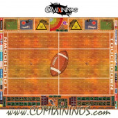 34 mm Indoor Plastic Gaming Mat with Parallel Dugouts - Comixininos