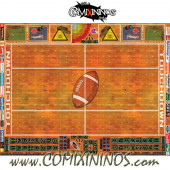 29 mm Indoor Plastic Gaming Mat with Parallel Dugouts - Comixininos