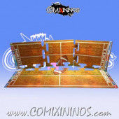 34 mm Indoor Puzzle-like Joint Hard Cardboard NO Dugout - Comixininos