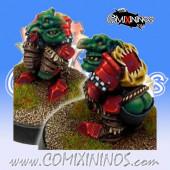 Goblins - Kaganer Hooligan Goblin nº 8 - SP Miniaturas