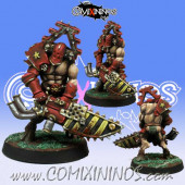 Evil - Maxwell Chainsaw Star Player - Meiko Miniatures