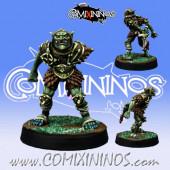 Evil Dwarves - Hobgoblin Assassin Star Player - Willy Miniatures