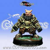 Evil Dwarves - Evil Dwarf Blocker nº 4  - Willy Miniatures