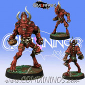 Evil - Blood Demon Beastman - Meiko Miniatures