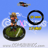 Set of 5 Kick Skill Rings for 32 mm Bases - Comixininos