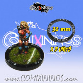 Set of 5 Kick Off Return Skill Rings for 32 mm Bases - Comixininos