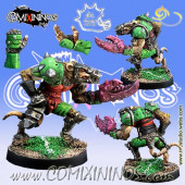 Ratmen - Klark Smash Star Player with Claws - Meiko Miniatures