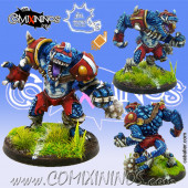Lizardmen / Frogmen - Lizardmen Big Guy - Meiko Miniatures