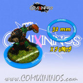 Set of 5 Leader Skill Rings for 32 mm Bases - Comixininos