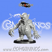 Goblins / Underworld - Gobfreak Goblin Lineman F - Games Miniatures