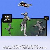 Wood Elves - Cabiri Wood Elf Lineman nº 1 - MK1881