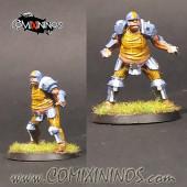 Humans - Fat Bastards Lineman nº 2 - Meiko Miniatures