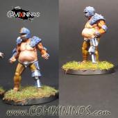 Humans - Fat Bastards Lineman nº 4 - Meiko Miniatures
