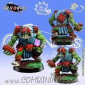 Orcs - Orc Lineman nº 4 - Meiko Miniatures