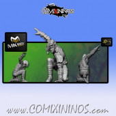 Wood Elves - Cabiri Wood Elf Lineman nº 5 - MK1881