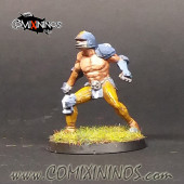 Humans - Fat Bastards Lineman nº 5 - Meiko Miniatures