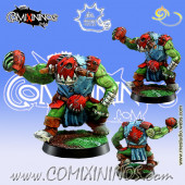 Orcs - Orc Thrower nº 1 or Lineman nº 5 - Meiko Miniatures