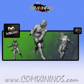 Wood Elves - Cabiri Wood Elf Lineman nº 6 - MK1881