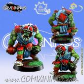 Orcs - Orc Lineman nº 6 - Meiko Miniatures