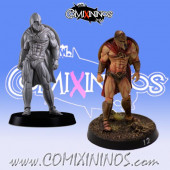 Humans / Bretonnian / Norses - Spartan Lineman nº 3 - Meiko Miniatures