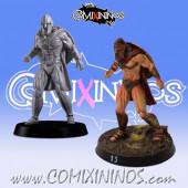 Humans / Bretonnian / Norses - Spartan Lineman nº 4 - Meiko Miniatures