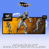 Dark Elves - Tanatos Elf Lineman nº 6 - MK1881