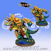 Lizardmen / Frogmen - Resin Lizardmen Boss Big Guy - Fanath Art