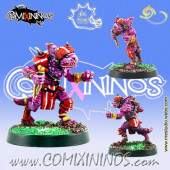 Lizardmen -  Hemlocked Assassin Star Player - Meiko Miniatures