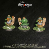 PAINTED Coach for Lizard and Frog Teams