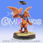 Lizardmen - Baby Lizard nº 4 - Willy Miniatures