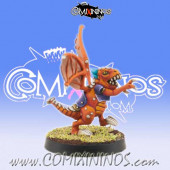 Lizardmen - Baby Lizard nº 7 - Willy Miniatures