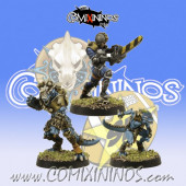 Lizardmen - Set of 3 Lizardmen Star Players - SP Miniaturas